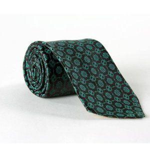 Vintage 60s Mr. John Green Atomic Silk Necktie TIE